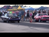 Dominator vs Flatliner Camaro at The Equalizer in Hutchinson Kansas