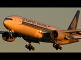 THE ULTIMATE COLLECTION of Singapore Airlines HEAVY Action