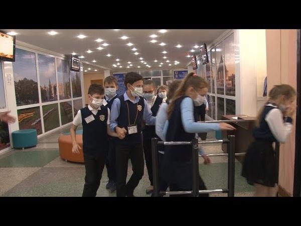 Сюжет ТСН24 Тульские школьники отточили навыки эвакуации при пожаре