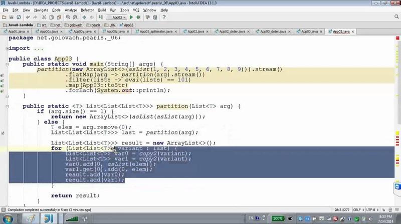 GolovachCourses Java Multithreading 14.07.2014 Lecture 11-2