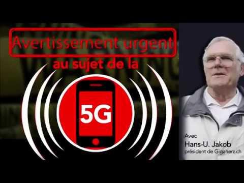 Avertissement urgent sur la 5G.