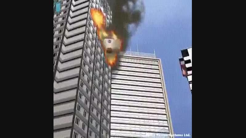 Девайс на случай экстренной эвакуации при пожаре в здании