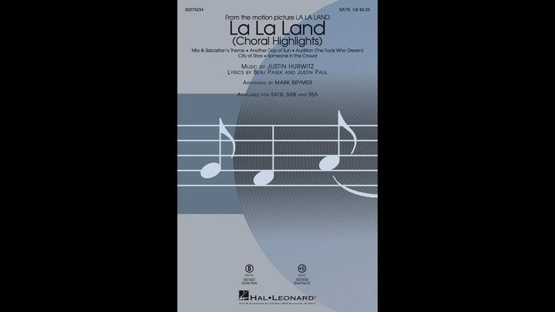 La La Land Choral Highlights (SATB) - Arranged by Mark Brymer
