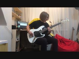 Обрывки (п.у. Стас из Broken Promise) - Train Derailed (bass cover)