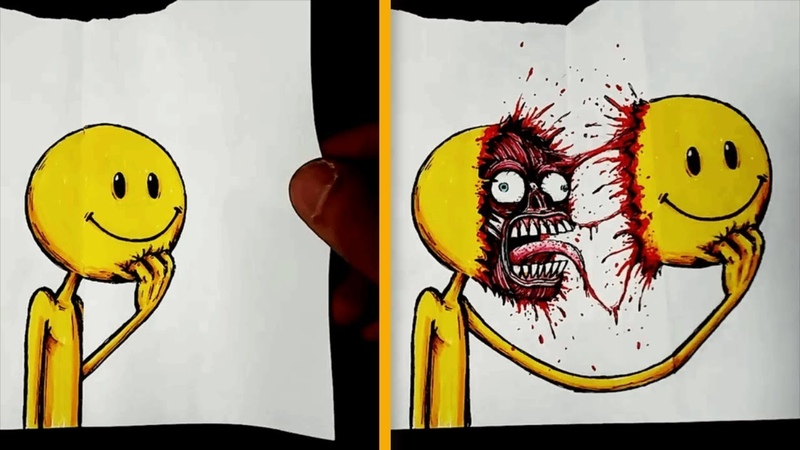 Innocent Illustrations With A Hidden Surprise That Might Scare You