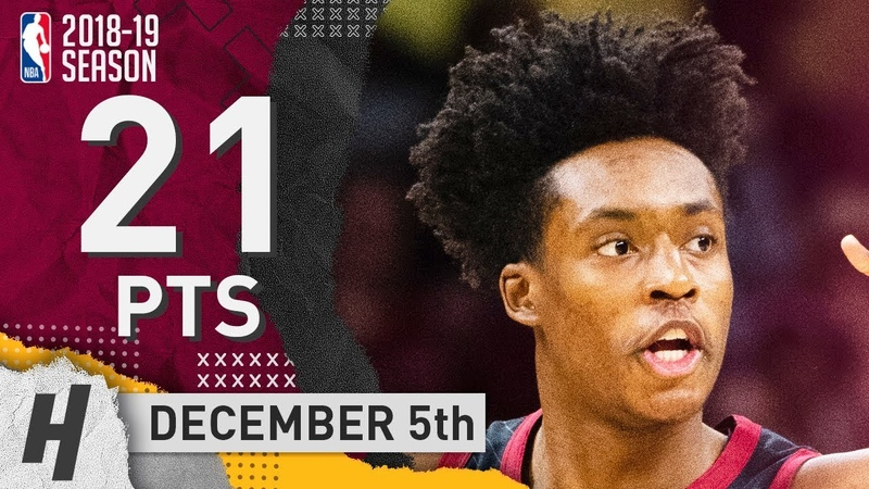 Collin Sexton Full Highlights Cavaliers vs Warriors 2018 12 05 21 Pts 3 Ast 2 Rebounds