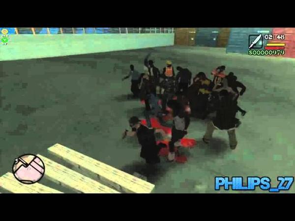 GTA Zombie Andreas 1.0 Beta V4.0 Philips_27 Test