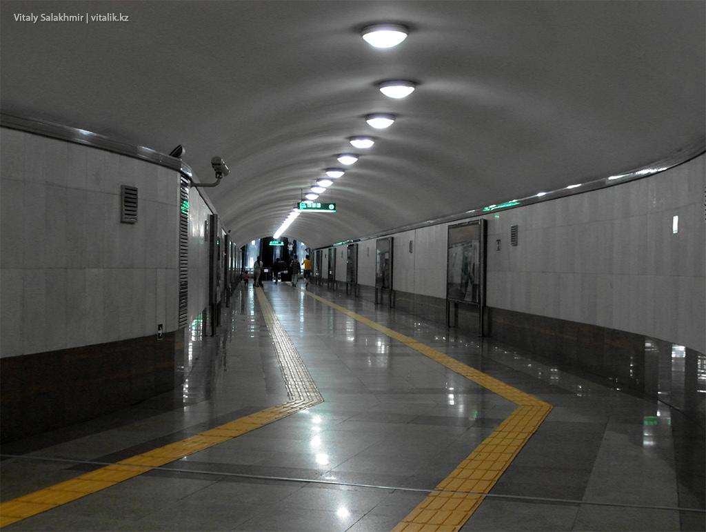 Коридор станции Абая, Алматинское метро