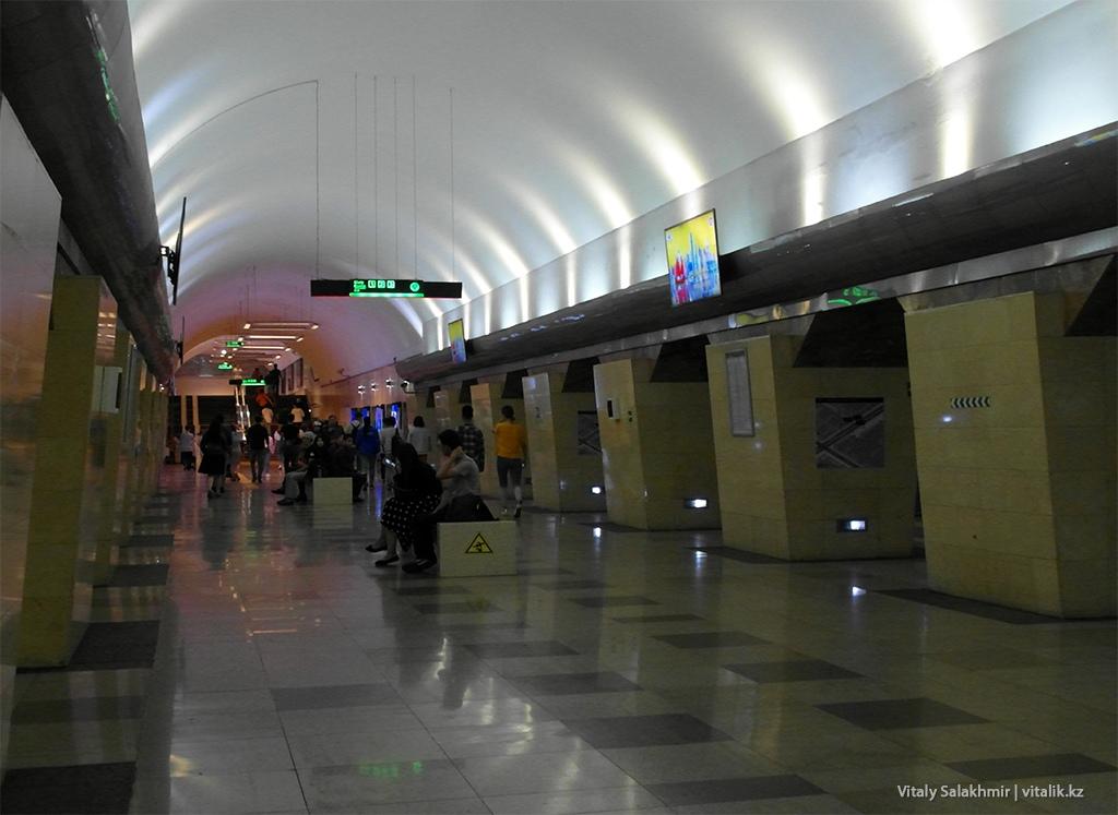 Станция Абая, Метро Алматы 2018