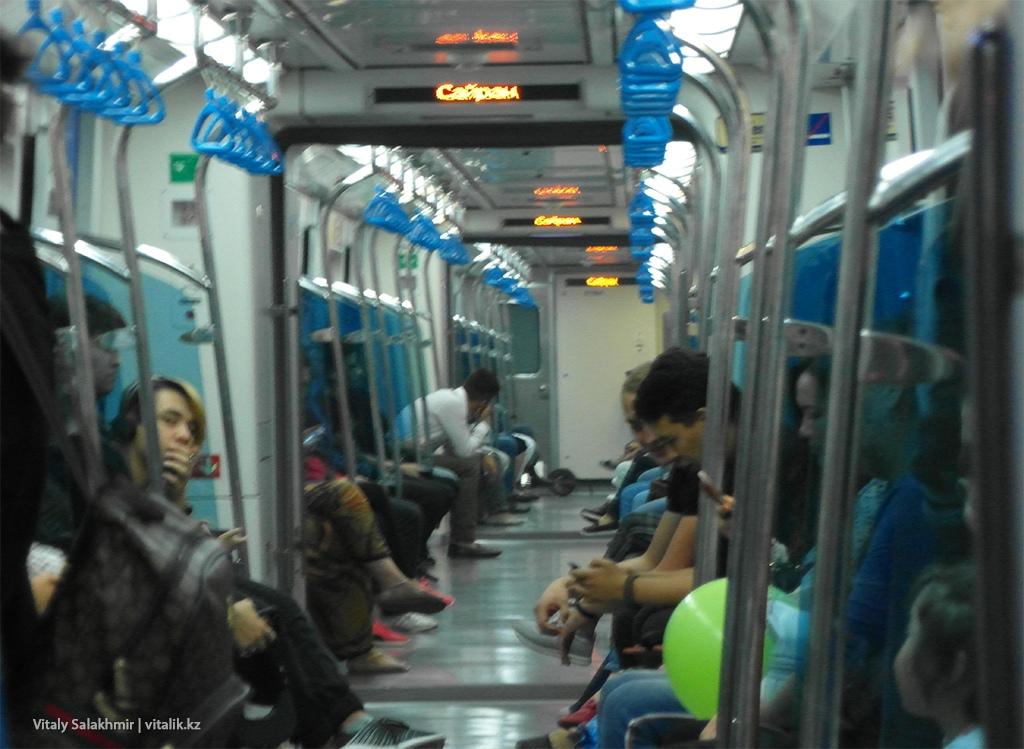 Вагоны метрополитена Алматы 2018, Rotem