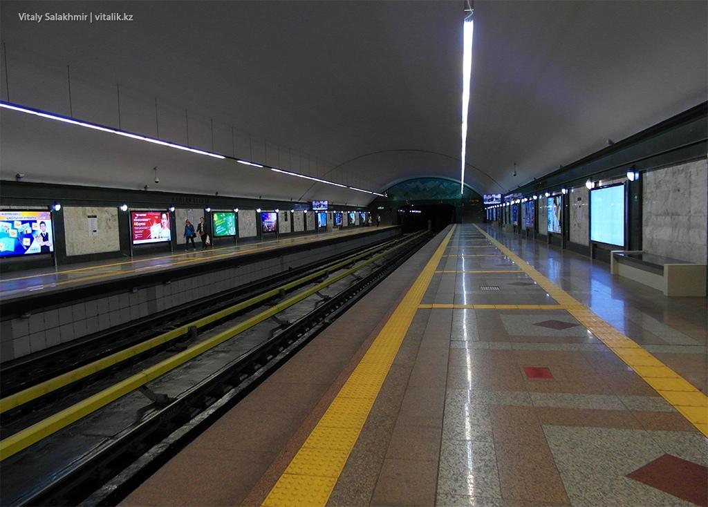 Обзор станции Алатау, алматинское метро 2018
