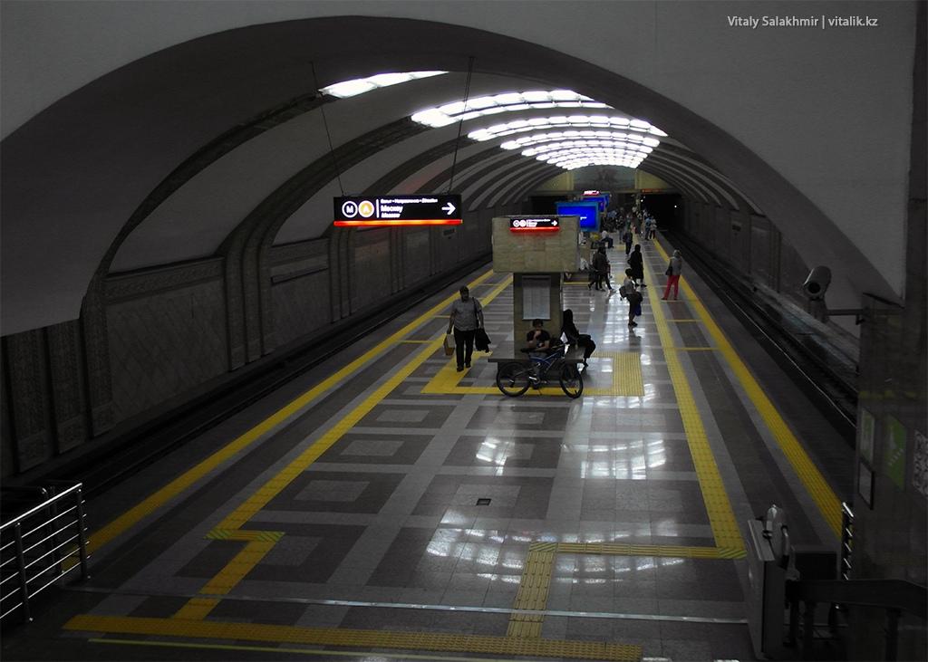 Обзор станции Райымбек батыра, метро Алматы 2018
