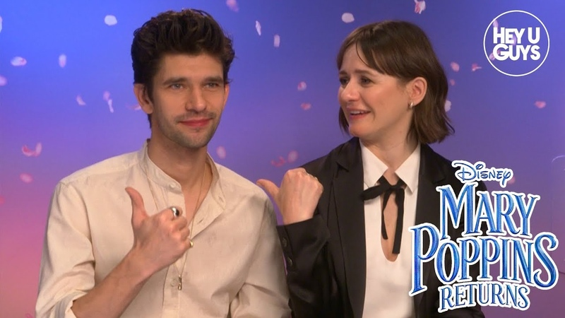 Emily Mortimer Ben Whishaw on Mary Poppins Returns and their favourite Disney Classics