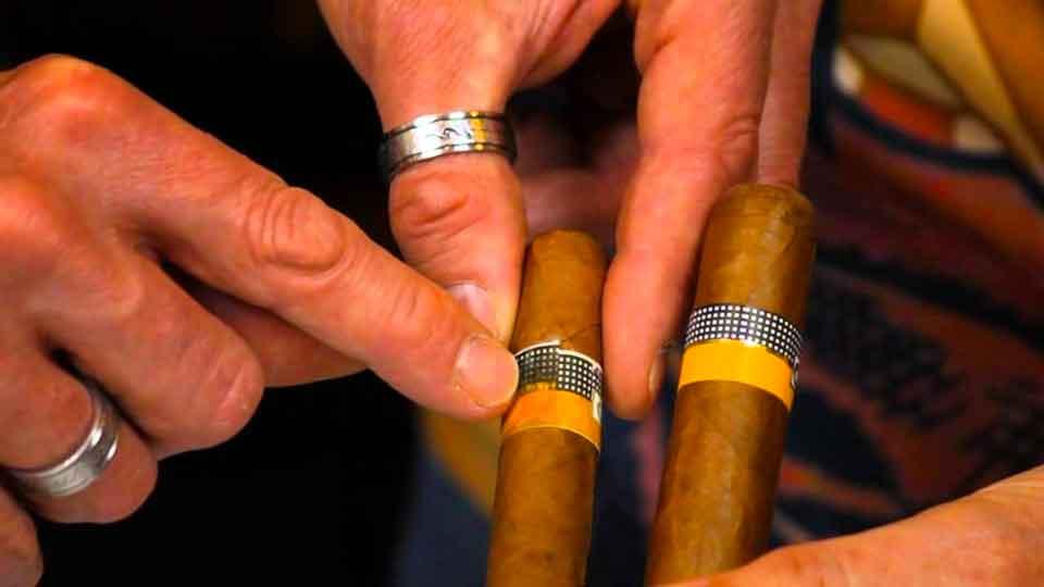 Небрежности на настоящих кубинских сигарах быть не должно.