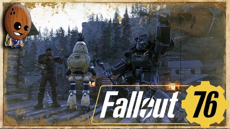 Fallout 76 - Прохождение 17➤Форт Прикетта. Похороны солдата. Военное кладбище Филиппа.