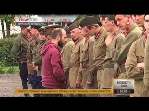 Стартовали съемки фильма о подвиге подольских курсантов