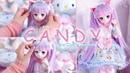 Распаковка мой новый мини Dollfie мечта Candy конфеты ⌋ ♡