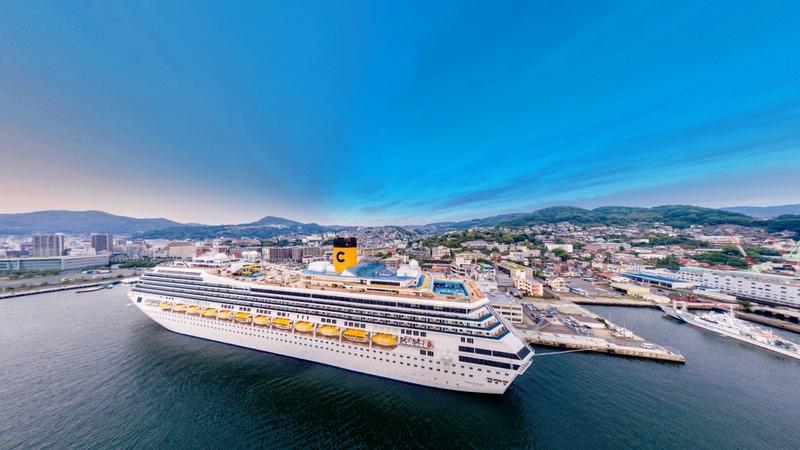 Обзор лайнера Costa Fortuna компании Costa Cruises от FOUR GATES UKRAINE