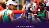 Simona Halep vs. Sloane Stephens 2018 Rogers Cup Final WTA Highlights
