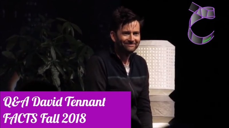 QA David Tennant at FACTS Fall 2018 (HD Sound)