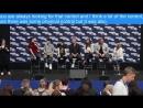Давид Мазуз Шона Пертви Дрю Пауэлл Робин Лорд Тейлор на панели Heroes and Villians Fan Fest в Лондоне 2017