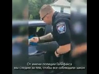 Ужас. - Смотрите что вытворяет полиция штата Вирджиния, США