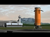 Historic Rocket Landing - Blue Origin's New Shepard recreation (KSP &amp kRPC)