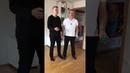 Partner-Übung: Überkreuz-Wurf mit 2 Bällen ... zu zweit