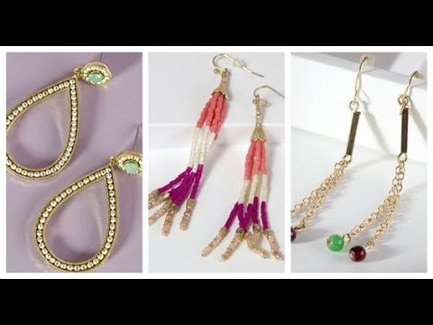 Latest designer earrings Collection-New stylish jewelry designs for girls in 2018