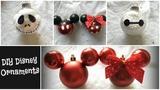 Disney Ornaments DIY Dollar Tree