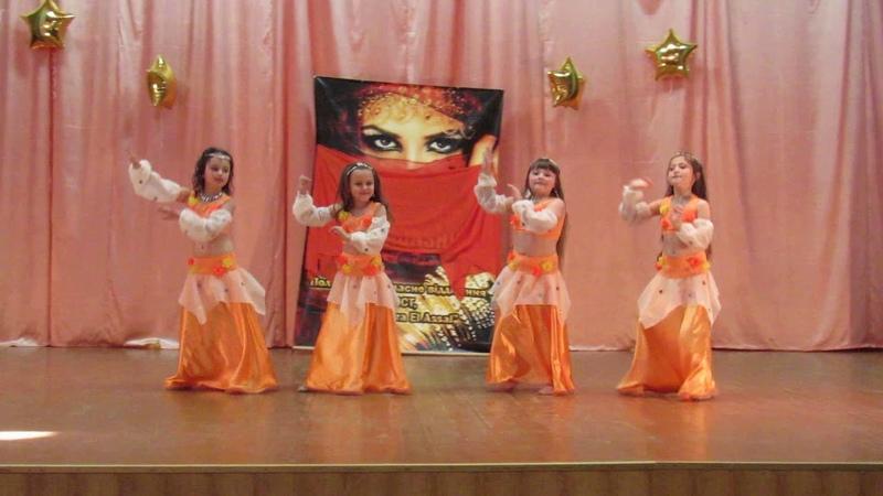 ШВТ Bahira EL Assal Полтава. Группа бэбби табла-дэнс 2018