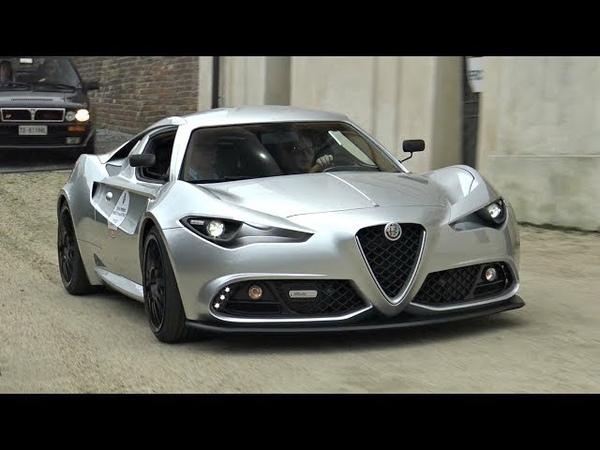 Alfa Romeo Mole Costruzione Artigianale 001 - Start Up, Exhaust, Driving Overview!