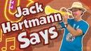 Jack Hartmann Says | Following Directions Song for Kids | Brain Breaks | Jack Hartmann