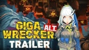 GIGA WRECKER Alt: Prelude to the Fallen: About this game, Gameplay Trailer