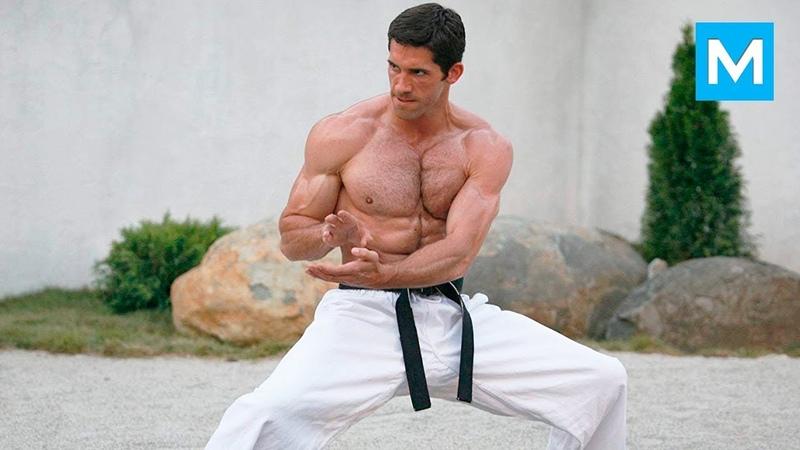 Scott Adkins SUPER KICKS   Muscle Madness