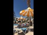 Тунис , июль 2018 г , отель Ривьера