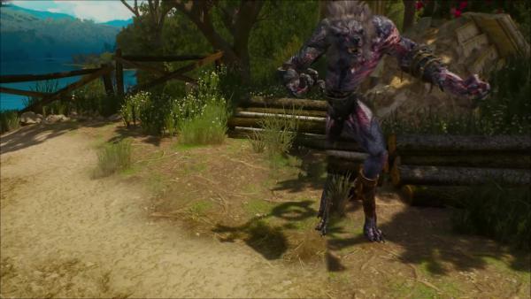 Новый графический мод для The Witcher 3 улучшает монстров