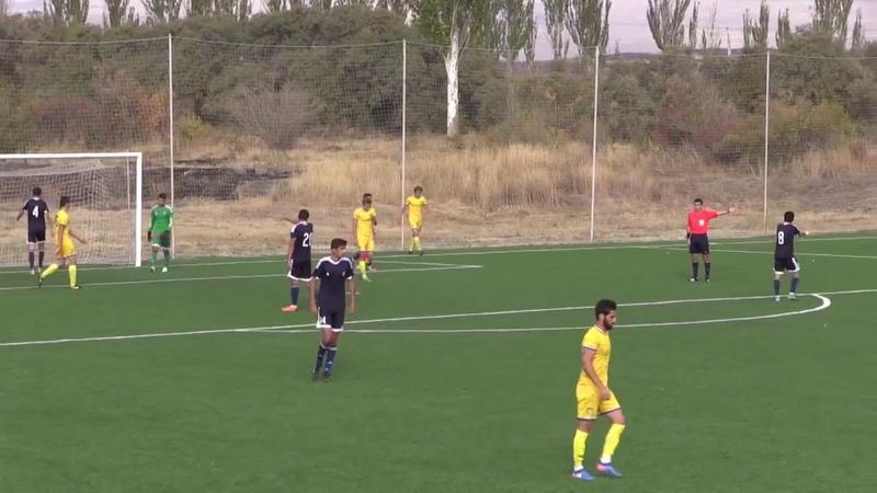 Две результативные передачи Михаила Губанова и гол Никиты Шумейко в матче Первой лиги Армении