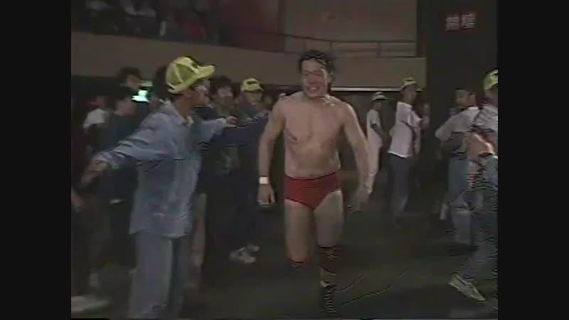 1994.05.31 - Stan Hansen vs. Tamon Honda