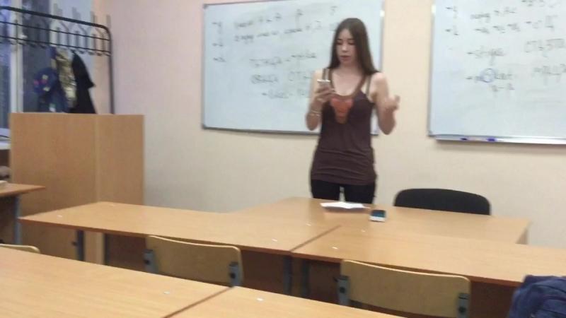 3. Лиза ГРИГОРЬЕВА (вып.истфака-2018). Понятно до звона...