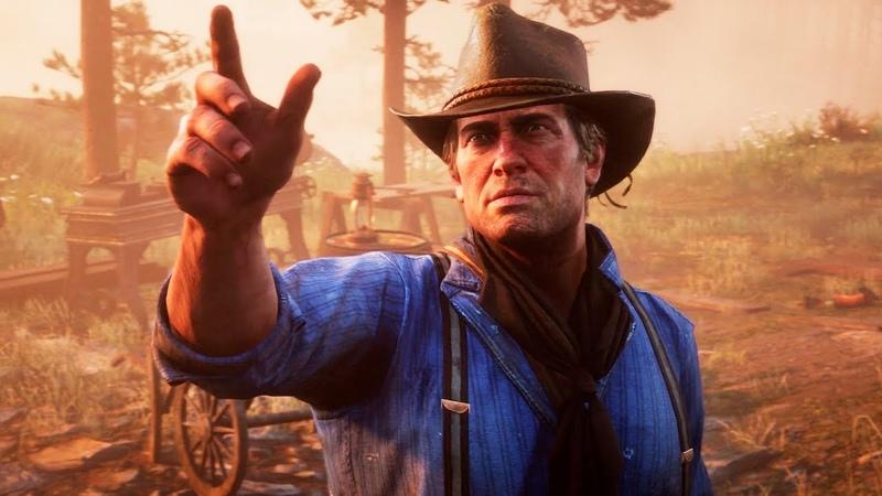 Red Dead Redemption 2 Русский релизный трейлер игры