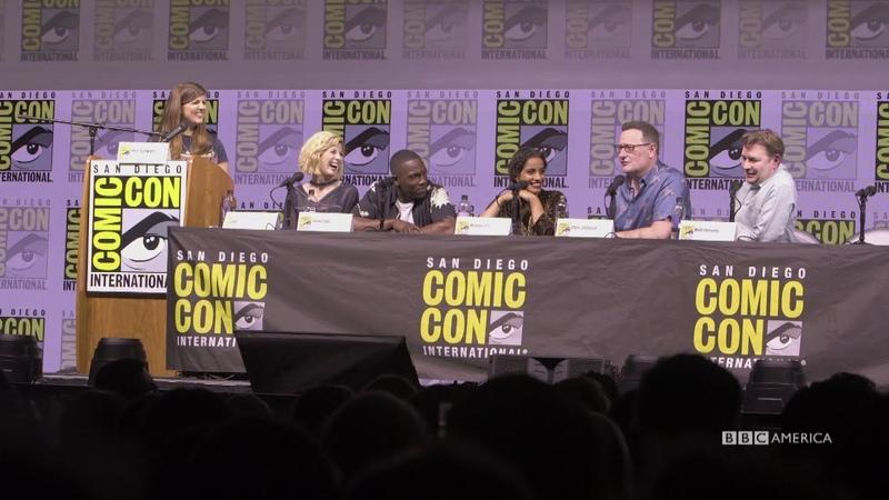 Quickfire Questions San Diego Comic Con 2018 BBC America