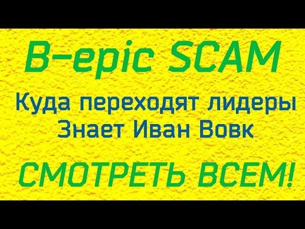 Bepic Скам [Scam]. Почему лидеры переходят в Own. Иван Вовк сравнил маркетинг.