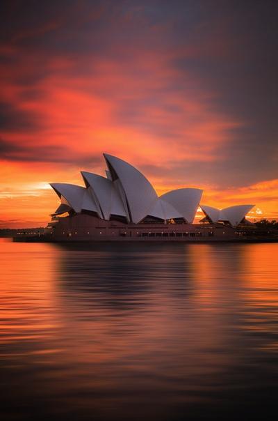 Рассвет в Сиднее