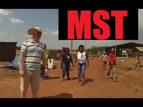 MST Acampamento Invasão Assentamento Ocupação - Sem Terra - Mato Grosso