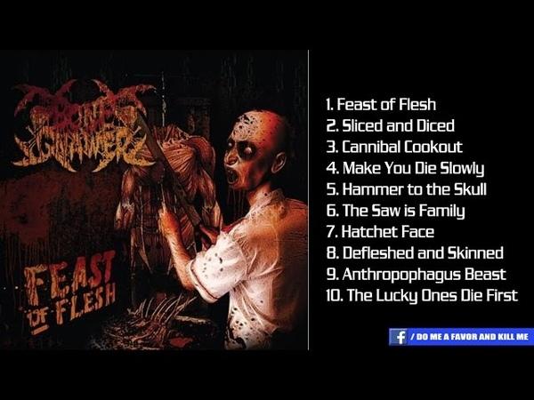 BONE GNAWER- Feast Of Flesh [Full-length Album]