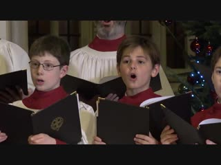 St. Georges Chapel Choir sing Carol of The Bells at Windsor. Christmas 2018