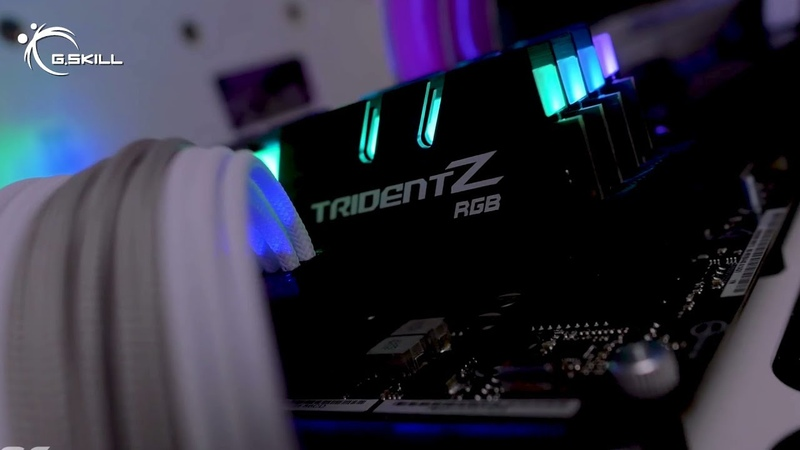 Year of the RGB: G.SKILL Trident Z RGB Gaming PC Build Compilation 2017