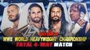 WWE Payback 2015 - Seth Rollins vs Randy Orton vs Roman Reigns vs Dean Ambrose (WWE WHC) - WWE 2K15