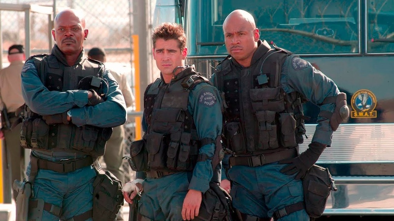 Colin Farrell as S.W.A.T. agent